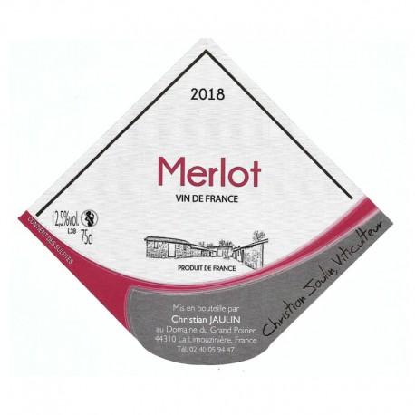 Merlot rouge 2018